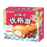 好丽友(orion)饼干蛋糕 酸奶 面包 优格派 12枚 *4件 40.8元(合10.2元/件)