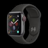 Apple Watch Series 4智能手表(GPS+蜂窝网络款 40毫米深空灰色铝金属表壳 黑色运动型表带 MTVD2CH/A) 3888元