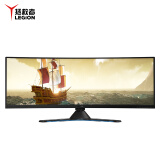 新品发售: Lenovo 联想 拯救者 Y44w 43.4英寸曲面显示器(3840×1200、144Hz、FreeSync 2) 9999元包邮 9999.00