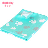 象宝宝(Elepbaby) 婴儿全棉床单 140*90cm 绿色脚Y *6件 116元(合 19.33元/件)