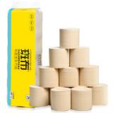 25日20点:BABO 斑布 本色竹浆卷纸 3层*150g*12卷 9.9元