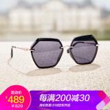 海伦凯勒19年新款林志玲同款偏光太阳镜女韩版大框墨镜司机专用眼镜H8827渐变灰N10(偏光) 409元