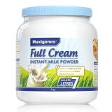 有券的上:Maxigenes 美可卓 全脂高钙奶粉 1kg *2件