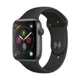 Apple Watch Series 4苹果智能手表(GPS款 44毫米深空灰色铝金属表壳 黑色运动型表带 MU6D2CH/A) 3288元