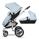 再降价:Silver Cross Surf 高景观婴儿推车 含睡篮 Surf 4989元包邮