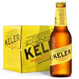 KELER 开勒 拉格啤酒 250ml*12瓶 39.20