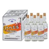 有劵的上,八八至尚台湾风味高粱酒白酒整箱批发酒水整箱6瓶国产白酒 89元(需用券)