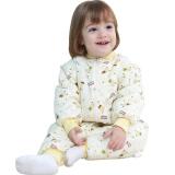 童颜 婴儿分腿睡衣 黄色小熊 *2件 169元(合84.5元/件)