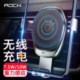 洛克(ROCK)车载手机支架车载无线充电器重力支架汽车出风口苹果三星充电器星光银*2件+凑单品 99.9元(合49.95元/件)