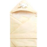 PLUS会员专享价:Elepbaby 象宝宝 新生儿多功能全棉针织包被 90X90CM 黄色 *3件 124 41.33