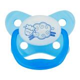 布朗博士(DrBrown's)婴儿安抚奶嘴 夜用式 带夜光(0-6个月-蓝色) 11.80