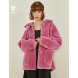 范思蓝恩 Z95199 女士短款大衣外套
