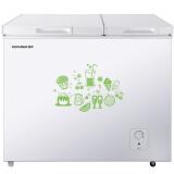 容声(Ronshen) 165升 双温双箱冰柜 大冷冻小冷藏 卧式冰箱 家用商用二合一冷柜 BCD-165MB 998元