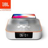 JBL DCS3500 桌面蓝牙音响 手机无线充电 音箱迷你闹钟 FM收音机小音响 JBL DCS3500 闹钟音响 899元