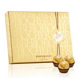 京东PLUS会员:FERRERO ROCHER 费列罗 榛果威化巧克力礼盒 187.5g *4件