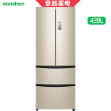 PLUS会员:Ronshen 容声 BCD-439WD11MPA 多门冰箱 439升 3448元(需用券)