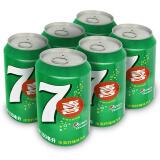 七喜 7up 柠檬味 碳酸饮料 330ml*6听 百事可乐出品 *9件 74.2元(合8.24元/件)