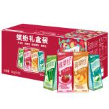 蒙牛 真果粒牛奶饮品(草莓+芦荟+椰果+桃果粒)250g*24 年货必备 四种口味 缤纷礼盒装 *2件 99.84元(合49.92元/件)