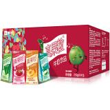 蒙牛 真果粒牛奶饮品(4种口味)250g*24盒 *4件