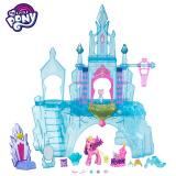 孩之宝(Hasbro) 小马宝莉 小马利亚系列 水晶城堡套装(透明蓝)B5255 199元