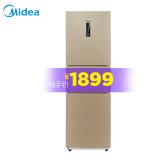 美的(Midea)冰箱三门 无霜除味 小型家用 多门电冰箱 超薄风冷无霜 BCD-231WTM(E) 1899元 1899.00