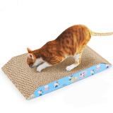 憨憨乐园 猫猫抓板磨爪器猫磨爪板猫爪板瓦楞纸猫窝猫玩具猫咪用品 6元