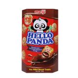 meiji 明治 熊猫巧克力夹心饼干 50g *2件 4.9元(合2.45元/件)