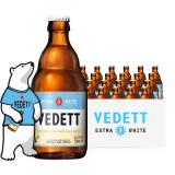 京东PLUS会员:VEDETT 白熊 精酿啤酒 330ml*24瓶