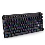 魔炼者(MAGIC-REFINER)MK11蓝牙双膜无线游戏机械键盘 黑色经典款 189元