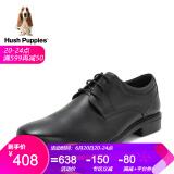 Hush Puppies/暇步士2018秋季新款啡色牛皮革男皮鞋商务正装鞋B2J01CM8 黑色 40 408元
