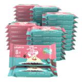 怡恩贝(ein.b)婴儿湿巾 8片*40包 超迷你便携小包装手口护肤湿纸巾 *6件 135.4元(合22.57元/件)
