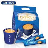 catfour 蓝山 速溶三合一咖啡粉 600g 13.9元包邮(需用券)