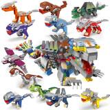 HUIQIBAO TOYS 汇奇宝 恐龙机械兽整套十二盒 630颗粒 29.9元