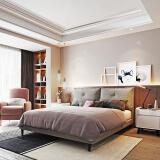 1日0点:CHEERS 芝华仕 C038 双靠包可拆洗布艺软床 1.8m