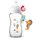 AVENT新安怡SCF674/14宽口径玻璃奶瓶240ml*8件