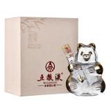 五粮液熊猫酒浓香型白酒礼盒装52度50ml单瓶装
