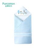 全棉时代(PurCotton) 婴儿针织抱被 90x90cm 1条装 *3件 241.4元(合 80.47元/件)