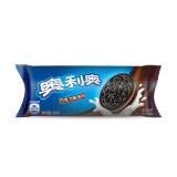 奥利奥Oreo早餐休闲零食蛋糕糕点夹心饼干巧克力味58g 2.2元