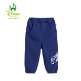 迪士尼(Disney)男童 长裤173K763 藏青 *4件 146元(合36.5元/件)