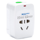 四万公里 全球通用转换插头 出国 多功能插头 转换器 转换电源插座 旅行用品 SW6001 *5件 49.5元(合 9.9元/件)