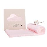 小白熊 婴幼儿纱布浴巾 100cm*100cm *3件 73.5元(合24.5元/件)
