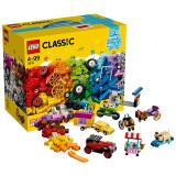 京东PLUS会员:LEGO 乐高 经典系列10715 多轮创意拼砌篮 *2件 313元包邮(折合156.5元/件)