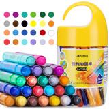 得力(deli)24色桶装学生水溶性旋转油画棒 儿童可水洗蜡笔绘画笔炫彩棒72056 *3件 72.45元(合 24.15元/件)