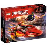 LEGO 乐高 幻影忍者 Ninjago 凯的Katana V11火元素忍者飞船 70638 *3件 454元(合151.33元/件)