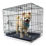 兴达万宠 宠物狗笼子中小型犬 铁丝笼具XDWC-600JZ 黑色 *3件 160.2元(合53.4元/件)