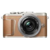 预售: OLYMPUS 奥林巴斯 E-PL9 无反相机套机( 14-42mm f/ 3.5-5.6镜头) 棕色 2499元 包邮(需 100元定金)
