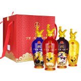 五粮液 出品 丁酉鸡年纪念酒 52度 浓香型白酒 500ml*4瓶 整箱装 996元