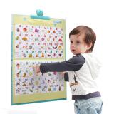猫贝乐(MAOBEILE)智能有声挂图婴儿中英文启蒙点读机玩具套装 22面充电版早教启智有声挂图本 *3件 121.2元(合40.4元/件)