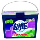 超能 浓缩天然皂粉/洗衣粉1.5kg(新老包装随机发货) *4件 107.6元(合26.9元/件)
