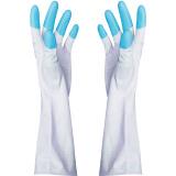 家杰 JJ-401 洗碗洗衣橡胶手套 L码 *2件 9.7元(合4.85元/件)